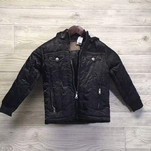 New Boys Girls Sz 7 Guess Hooded Jacket